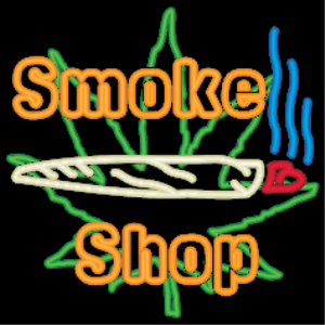 Neon Marijuana Smoke Shop | Photos and Images | Miscellaneous
