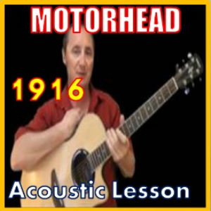 Learn to play 1916 by Motorhead | Movies and Videos | Educational