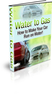 water to gas - how to make your car run on water