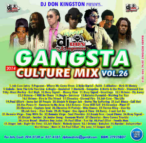 Dj Don Kingston Gangsta Culture Reggae Mix Cd | Music | Reggae