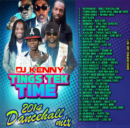 First Additional product image for - Dj Kenny Tings Tek Time Reggae Mix Cd