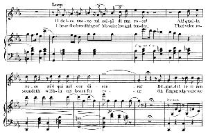 Il dolce suono mi colpi di sua voce: Soprano Aria (Lucia). G. Donizetti: Lucia di lamermoor, Vocal Score, Ed. Schirmer (1898). Italian/English. | eBooks | Sheet Music