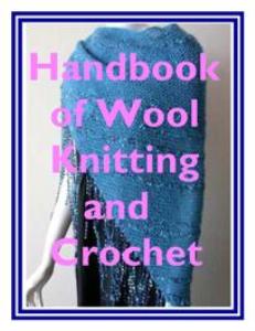 handbook of wool knitting & crochet