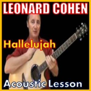 Learn to play Hallelujah by Leonard Cohen | Movies and Videos | Educational