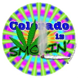 colorado is smokin' marijuana