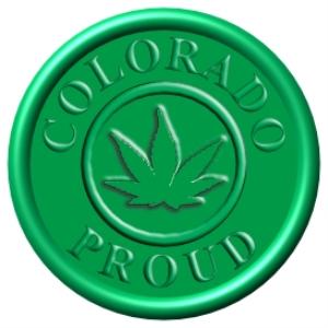 Colorado Proud Marijuana Button | Photos and Images | Miscellaneous