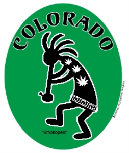 Colorado  Marijuana Smokopelli | Photos and Images | Miscellaneous
