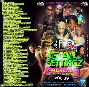 Dj Don Kingston Gal Settingz Mix Vol.39 | Music | Reggae