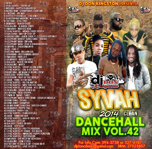 First Additional product image for - Dj Don Kingston Syvah Reggae Mix Cd