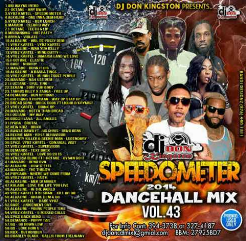 First Additional product image for - Dj Don Kingston Speedometer Reggae Mix. Vol.43