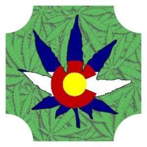 colorado marijuana leaf