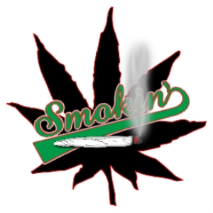 smokin' marijuana joint