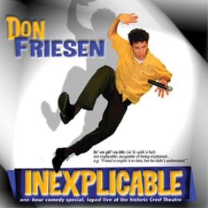 Inexplicable CD | Music | Comedy