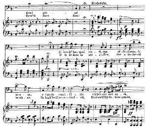Al ben dei tuoi qual vittima Aria (Raimondo Bidebenti). G. Donizetti:Lucia di Lamermoor, Vocal Score, Ed. Schirmer (1898).PD. Italian/English | eBooks | Sheet Music