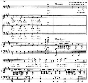Dalle stanze, ove Lucia: Aria (Raimondo Bidebent) . G. Donizetti: Lucia di lamermoor. Vocal Score, Ed. Schirmer (1898). PD. Italian | eBooks | Sheet Music
