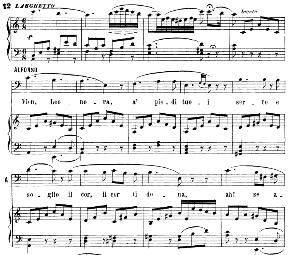 vien, leonora, a piedi tuoi aria (alfonso xi).. with recitative
