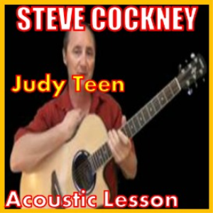 Learn to play Judy Teen by Steve Harley And Cockney Rebels on the acoustic guitar | Movies and Videos | Educational
