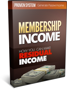 Membership Income | Movies and Videos | Special Interest