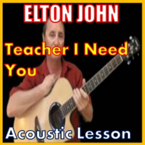 Learn to play Teacher I Need You by Elton John | Movies and Videos | Educational