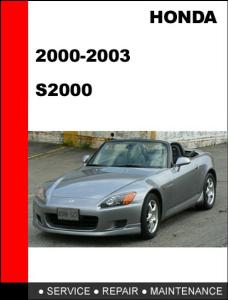 honda s2000 2000-2003 workshop factory service repair manual