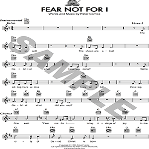 Peter Combe - Fear Not For I | Music | Children