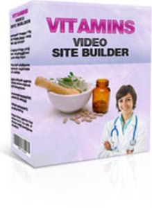 vitamins video site builder