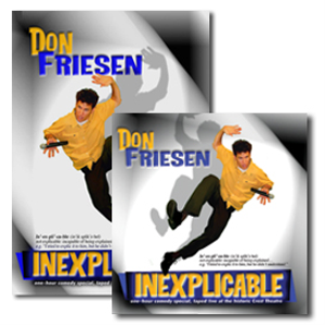 Inexplicable CD/DVD combo | Movies and Videos | Comedy