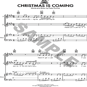 Peter Combe - Christmas is Coming | Music | Children