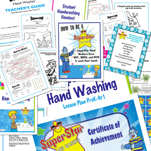 """lesson plan hand washing Body and mind – hand washing experiment (5-8) students will learn that """"clean"""" hands may not be so clean after all and that washing their hands can prevent the spread of disease cdc science ambassador lesson plans – inquiry into infectious disease: it's a germy world after all [pdf – 43 pages] (9-12."""