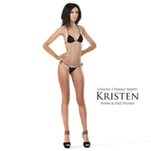genesis 2 female shapes: kristen