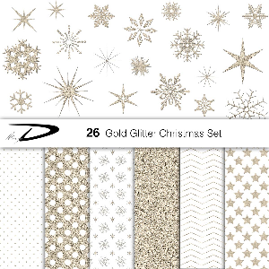 christmas gold glitter snowflakes clipart-christmas glitter stars clipart - frozen, winter clipart - 20 gold glitter clipart - snow