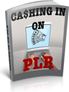 Cashing In On PLR | eBooks | Business and Money