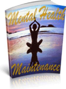 Mental Health Maintenance | eBooks | Self Help