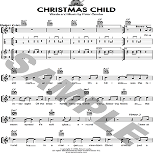 Peter Combe - Christmas Child | Music | Children