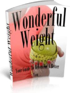 Wonderful Weight | eBooks | Health