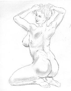 jon byrd female figure art