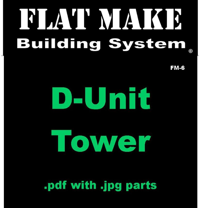 First Additional product image for - D-Unit Tower