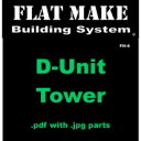 D-Unit Tower | Crafting | Paper Crafting | Other
