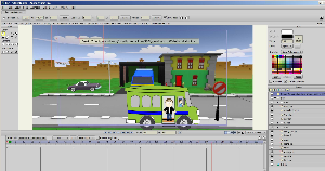 creating seamless character and vehicle interactions in anime studio