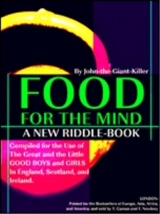 food for the mind : a new riddle-book (illustrations)