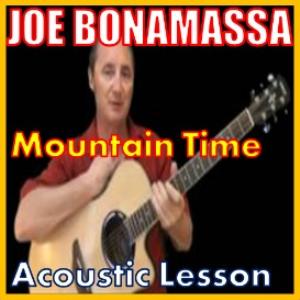 learn to play mountain time by joe bonamassa