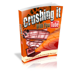 crushing with youtube w/master resell rights