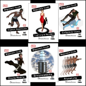 the beginner's guide collection for daz studio 4