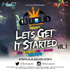 Zj Liquid Pop Dance Mixtape Lets Get Started | Music | Reggae
