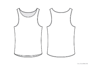 Tank Top Template Erieairfair