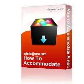 How To Accommodate A Home-Based Business   Other Files   Documents and Forms