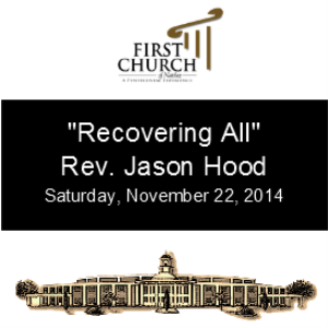 Recovering All (Rev. Jason Hood) | Other Files | Everything Else