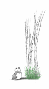 guardian of the bamboo trees
