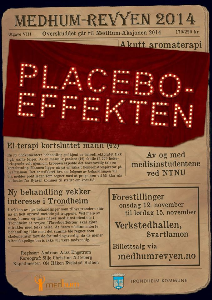 medhum-revyen 2014 placeboeffekten