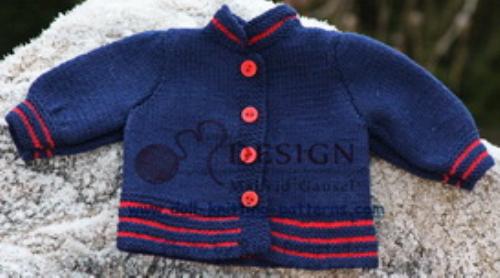First Additional product image for - DollKnittingPatterns - 2014 Julehilsen - Jakke (Norsk)